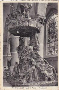 TURNHOUT, Kerk St. Pieter, Predikstoel, Antwerp, Belgium, 10-20s