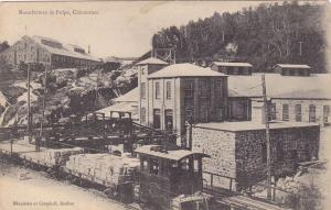 CHICOUTIMI , Quebec , Canada , 00-10s; Manufacture de Pulpe
