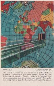 Mapparium Map Of The Eastern Hemisphere The Christian Science Publishing House