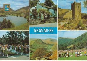 England Grasmere The Church Wordsworth Cottage Rushbearing Helm Craig and Sports