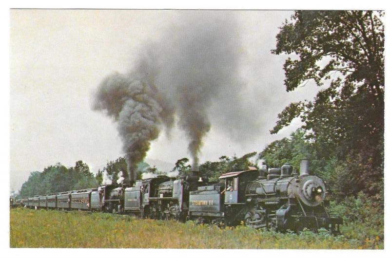 Green Mountain Railroad Triple Head Locomotives 15 653 & 124