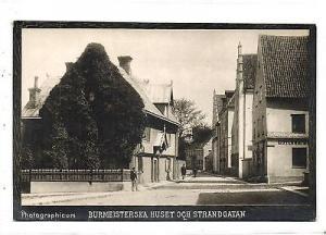 sweden, WISBY, Burmeisterska Huset 1890s Photographicum