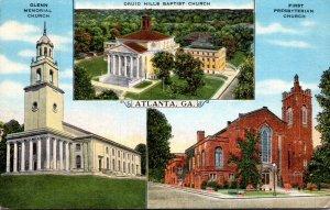 Georgia Atlanta Glenn Memorial Church First Presbyterian Church & Druid Hills...