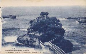 France Biarritz Le Rocher du Basta