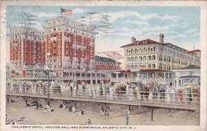 New Jersey Atlantic City Chalfonte Hotel Haddon Hall Boardwalk 1917
