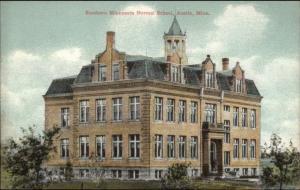 Austin MN Normal School c1910 Postcard