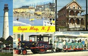 Cape May, New Jersey, NJ Post Card Cape May NJ 1972
