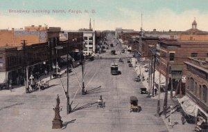 FARGO , North Dakota , 00-10s ; Broadway , looking North