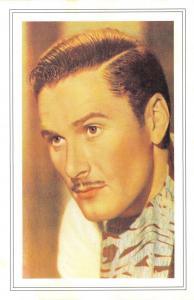Nostalgia Postcard Actor, Errol Flynn 1938 Reproduction Card NS51