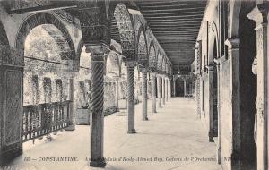 Algeria Constantine Ancien palais d'Hady Ahmed Bey Galerie de l'Orchestre