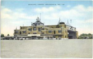 Municipal Airport, Indianapolis, Indiana, IN, Linen