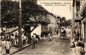 CPA AK Dakar Rue des Essarts SENEGAL (821964)