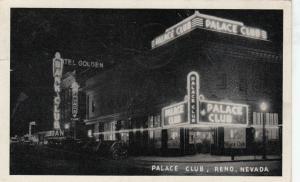 RENO , Nevada , 1945 ; Palace Club Casino at night