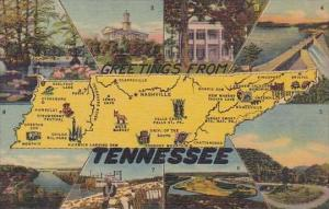 Tennessee Nashville Greetings From Tennessee