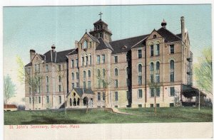 Brighton, Mass, St. John's Seminary