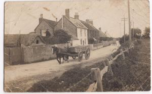 Sussex- Felpham RP PPC, Unposted But Faults, Cottages With Horse Drawn Traffic