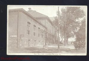 COLUMBUS BARRACKS OHIO POST MESS HALL U.S. ARMY BASE VINTAGE POSTCARD