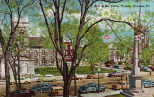 CARLISLE , Pennsylvania , 30-40s; Part of the Public Square