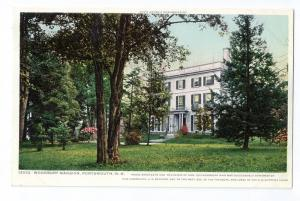 Portsmouth NH Postcard Woodbury Mansion c 1910 Photostint