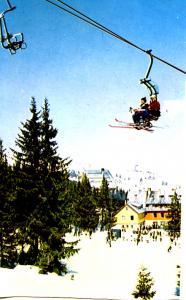 Bulgaria - Berghutte Aleko (Aerial Lift)  ***Card has been trimmed