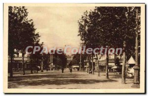 Postcard Old Toulouse Les Allees Jean Jaures