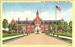 Huntingdon College Montgomery Ala. Alabama Postcard Standard View Card