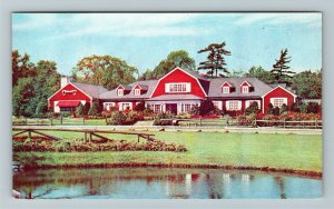 Farmingham, MA Vaughn Monroe's Meadows, Chrome, Massachusetts, Postcard