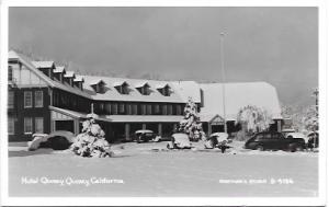 US Hotel - Motel -Hotel Quincy, Quincy, California