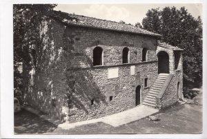 Italia, CAPRESE MICHELANGELO, Casa ove nacque Michelangelo, 1965 used Real Photo