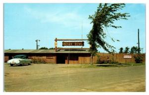 1950s/60s Indian Bowl, Lac du Flambeau, WI Postcard