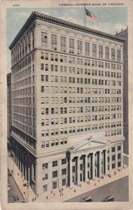 CHICAGO, Illinois , 1910s ; Federal Reserve Bank
