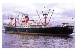mc4172 - Greek Cargo Ship - Anna Maria S , built 1957 - photo 6x4