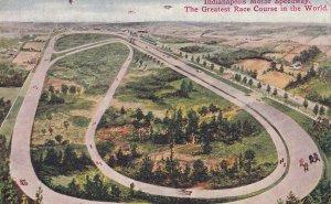 INDIANAPOLIS, Indiana, PU-1910; Indianapolis Motor Speedway