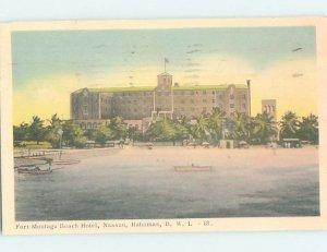 1950's BEACH HOTEL Nassau Bahamas AE2665