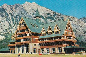 The Prince of Wales Hotel in Waterton Lakes National Park,  Waterton Lakes,  ...