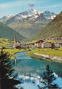 M. Vago, Veduta dal Lago, Livigno, Lombardy, Italy, 50´s-70´s