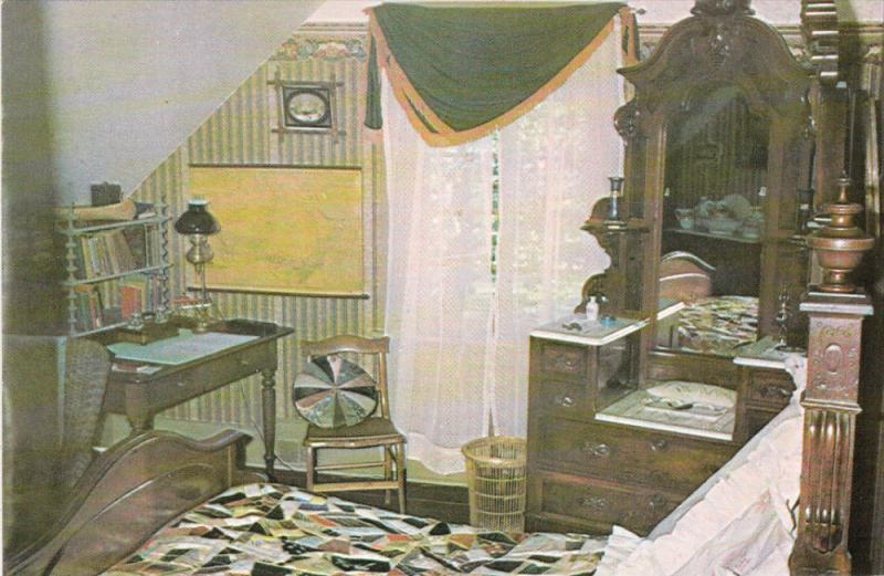 KITCHENER, Ontario, Canada, 1940-1960's; The Boy's Bedroom, Woodside National...