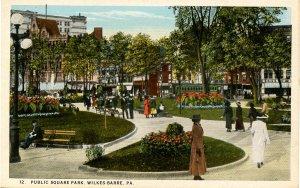 PA - Wilkes-Barre. Public Square Park