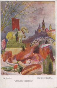 Still Life: Wesolego Alleluja!, St. Tondos, Goat Meal & wine, Dzwon Zygmunta,...
