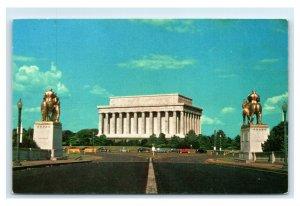 Postcard Lincoln Memorial, Washington DC chrome E31