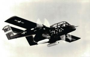 North American OV-10A Real Photo Aviation Postcard -  02.71