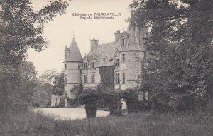 MANCHE, France,1910-1920s, Chateau de TOURLAVILLE Facade Meridionale