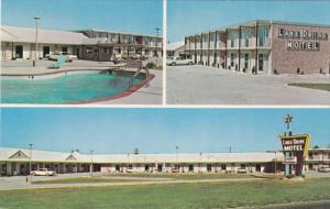 Swimming Pool, Lake Drive Motel, Highway U.S. 1 & 158 at Interstate 85, HENDE...