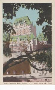 Canada Quebec Chateau Frontenac Hotel