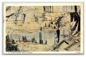 831  VT   Barre  Granite Quarry