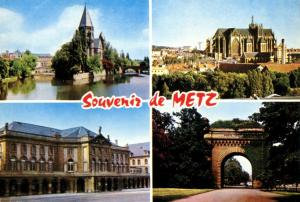 Multivview Souvenir of Metz, France