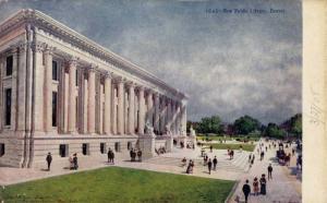 Exterior, New Public Library, Denver,Colorado,00-10s