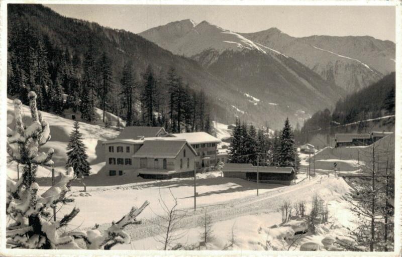 Switzerland Hotel Spinabad Davos Glaris 01.99