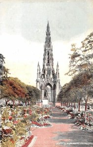 Scott's Monument Edinburgh Scotland, UK 1905