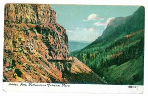 Luzerne to Glens Falls, New York 1909 used Postcard, Yellowstone Park